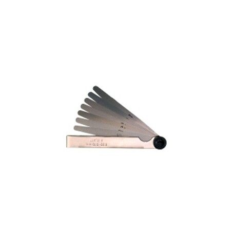 LIMIT škáromer 21ks 0,1-0,5mm, po 0,02mm Feeler gauge Limit