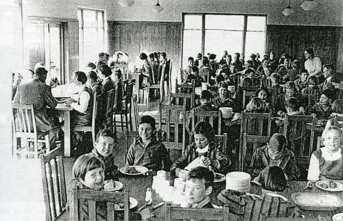 Dining hall, Quaker school, Whanganui