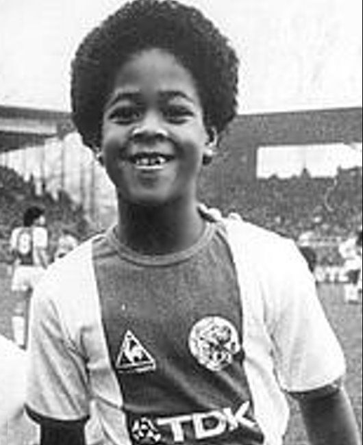 Young Patrick Kluivert
