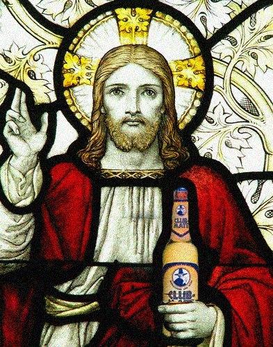 Jesus lavede vand til Club-Mate