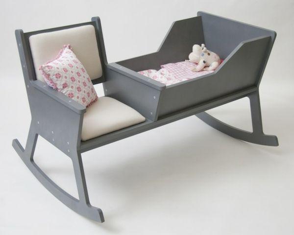 Kinder Bett Schaukelstuhl Bettwäsche Design Ideen