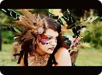 Feather earrings, chokers and accessories ··· | ··· Your Fantasy Costume