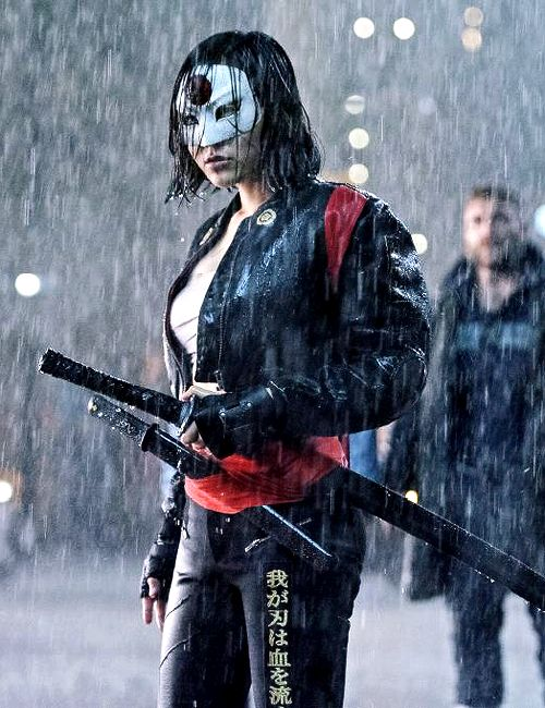 New still of Katana from Suicide Squad