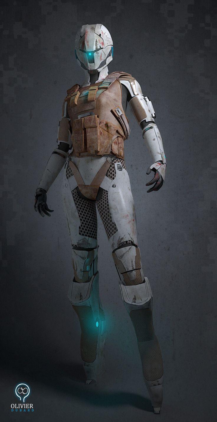 Robot/Soldier Suit