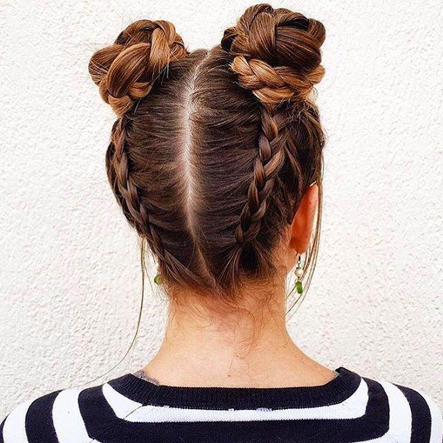 How to Create an Infinity Bun | Updo Hairstyles | Cute Girls Hairstyles Nail Design, Nail Art, Nail Salon, Irvine, Newport Beach
