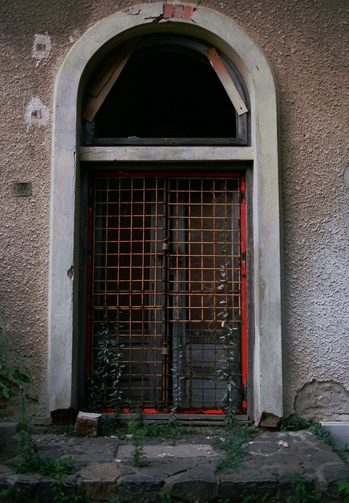 Back door, Giurgiu, Romania - 2011