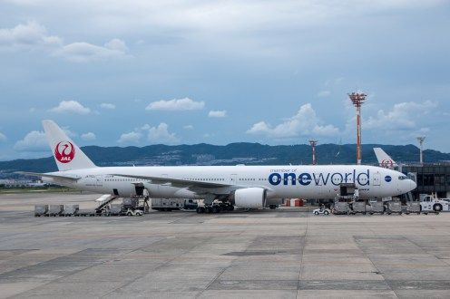 JAL Boeing 777-300 Oneworld #japan #japanairlines #jal #economyclass #boeing #businessclass #lounge