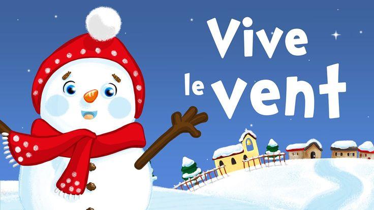Navidad, Navidad en francés (Vive le vent) - Canción de navidad para niñ...