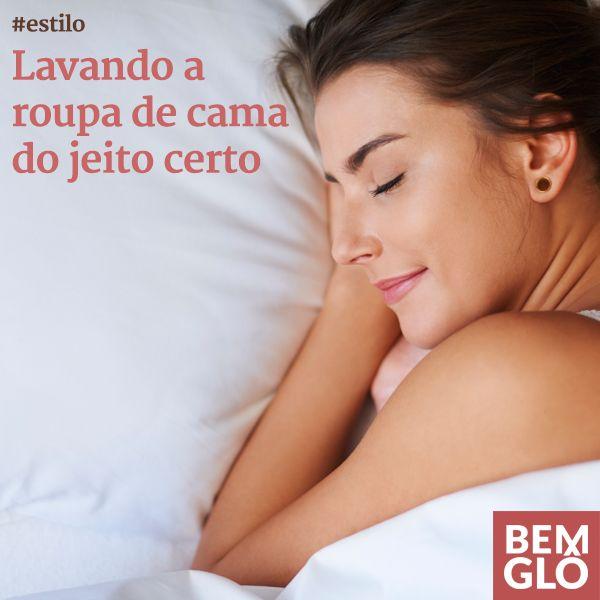 Você sabe qual é o jeito correto de lavar sua roupa de cama? Anote nossas dicas de hoje e tenha sempre uma cama macia, limpinha e cheirosa para dormir. <3