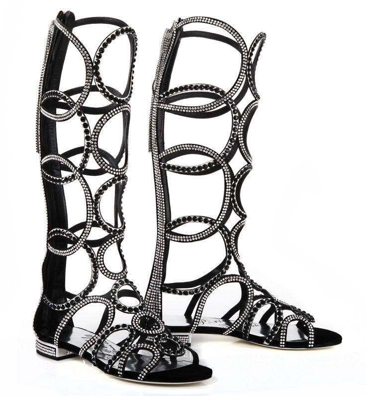 OMG!!! Our wonderful gladiator jewel sandal embellished with tone on tone SWAROVSKI ELEMENTS. #Limitededition #gladiator #sandal #60s #optical #jewel #SWAROVSKI ELEMENTS #Paris #NewYork #LORIBLU