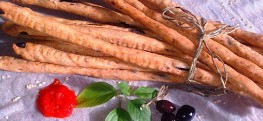 Υγιεινά  κριτσίνια με καρότο ή σπανάκι