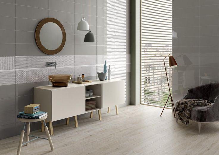 PIASTRELLE DOUBLE, bagno moderno ceramica bicottura # ...