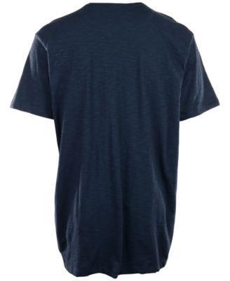 '47 Brand Men's New England Patriots Logo Scrum T-Shirt - Blue XL