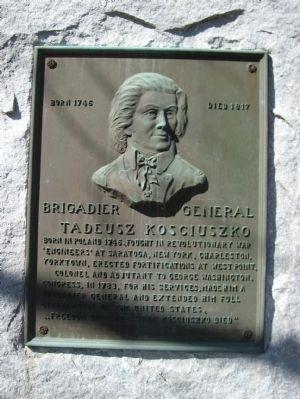 kosciuszko tadeusz | Tadeusz Kosciuszko Marker Photo, Click for full size