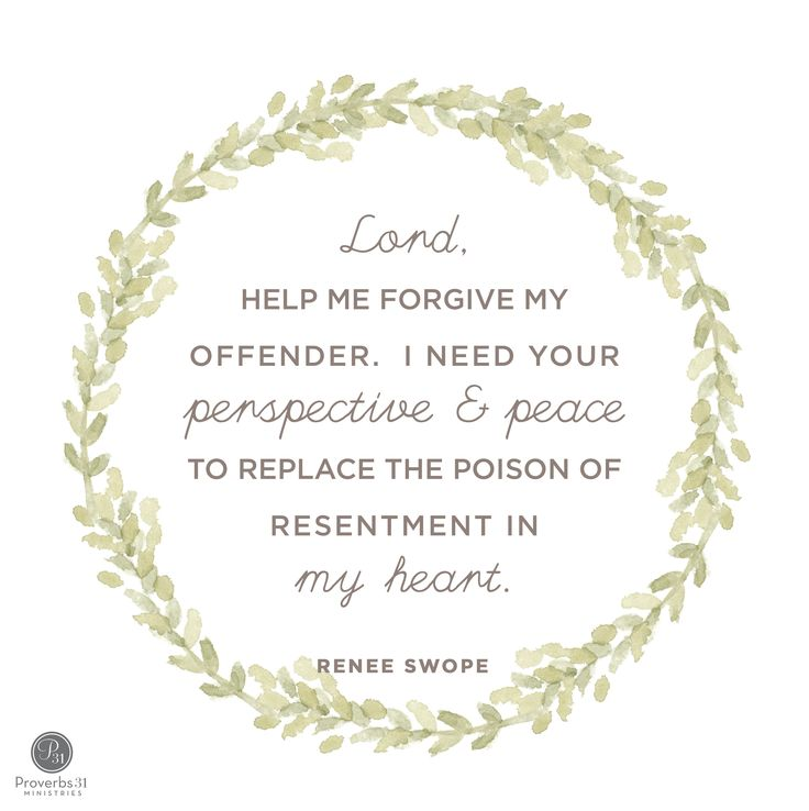 """I needed to take out the trash in my heart by bringing my resentments to God, asking for His perspective of my situation, and choosing to forgive my offender.  Forgiveness isn't easy but it's so much better than the smelly trash of bitterness."" - Renee Swope 