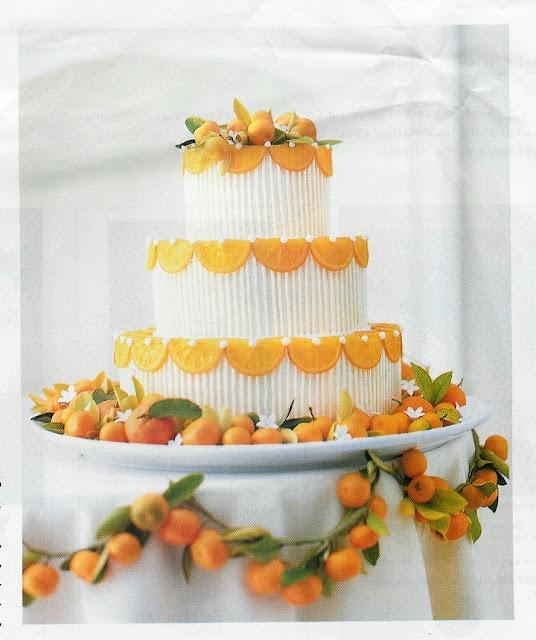 oranges! Citrus lined wedding cake. Citrus garland.: Citrus Wedding, Lemon Cake, Orange Wedding, Amazing Citrus, Orange Cake, Cake Inspiration, Wedding Cakes, Decor Cake, Birthday Cake