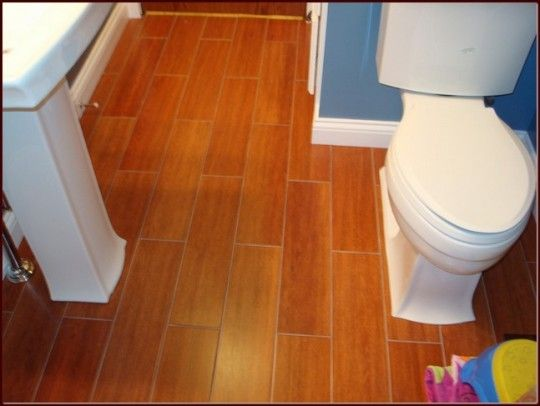 Classic Cork Flooring in Bathroom