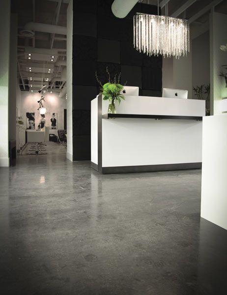 17 best ideas about salon reception area on pinterest spa reception area salon ideas and - Salon parquet ...
