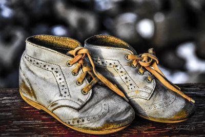 Mine første sko (Foto Seljordslia)