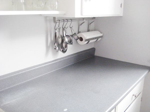 Laminate Countertops | Gross Gray Blue Laminate Countertops   In Case You  Needed A Closer