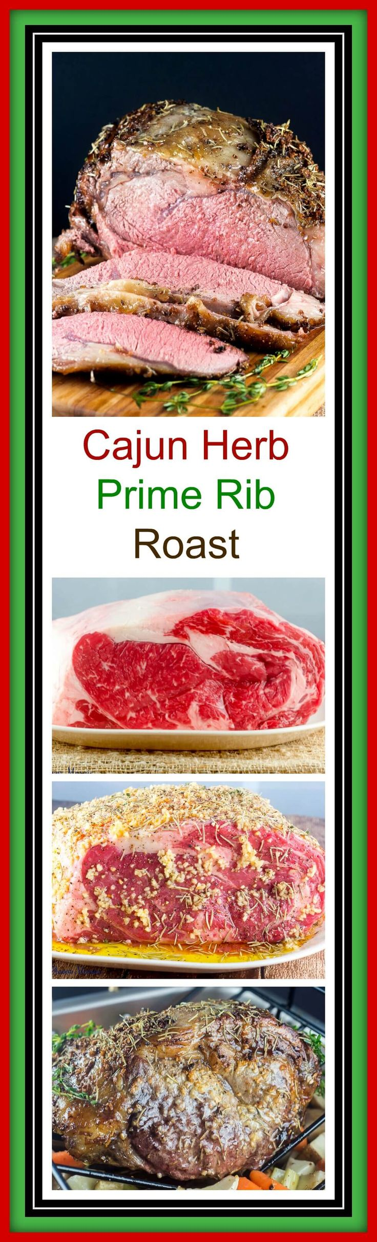 This Cajun Herb Prime Rib Roast, also known as a ribeye roast, will bring family and friends together around the #SundaySupper or Thanksgiving, Christmas, or holiday table to enjoy its tender and juicy roasted flavor. @certangusbeef #RoastPerfect #ad ~ http://FlavorMosaic.com