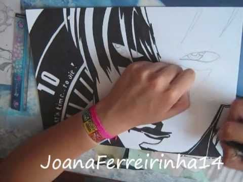 Drawing Kira - Death Note - YouTube