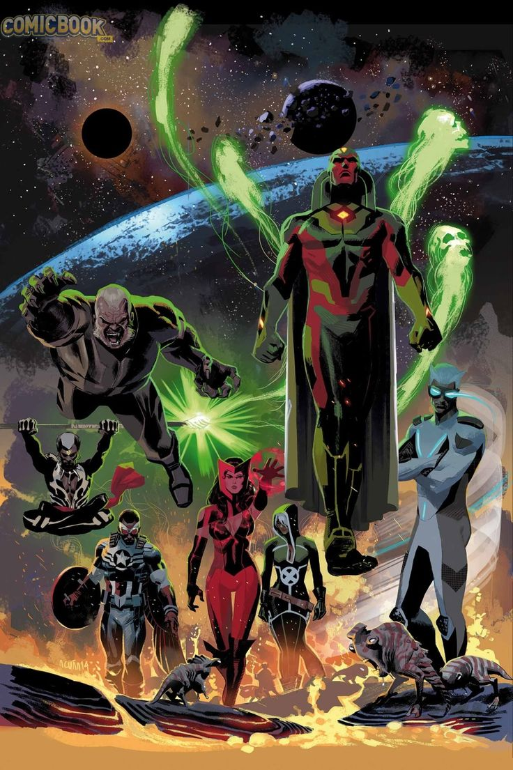 Marvel Announces Uncanny Avengers #1 Spinning Out of AXIS   Comicbook.com