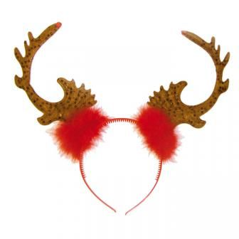 """Haarreif """"Rentier-Geweih"""" #weihnachtsfeier #wichtelgeschenk #mitbringsel"""