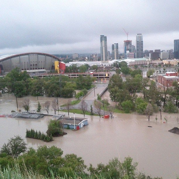 Calgary Flood June 20/21 2013 June 21 - Stampede Grounds