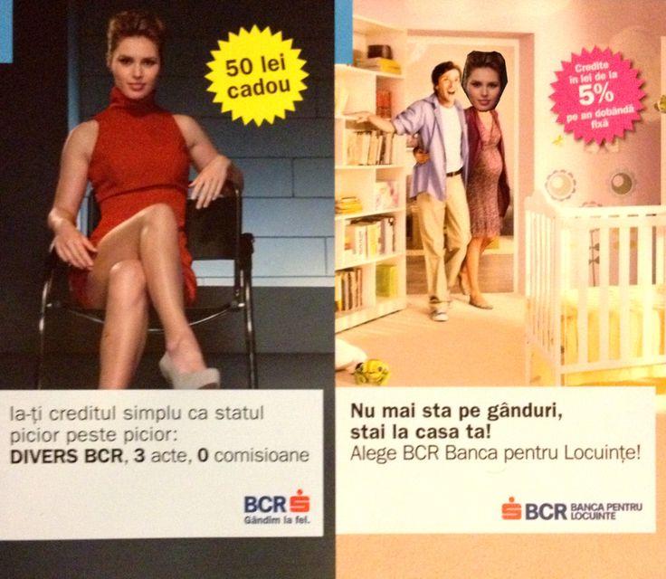 BCR ştie: stai picior peste picior şi peste nouă luni mai iei un credit
