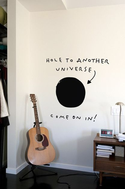 Blik Wall Decals: Hole to Another Universe ($20-50) - Svpply