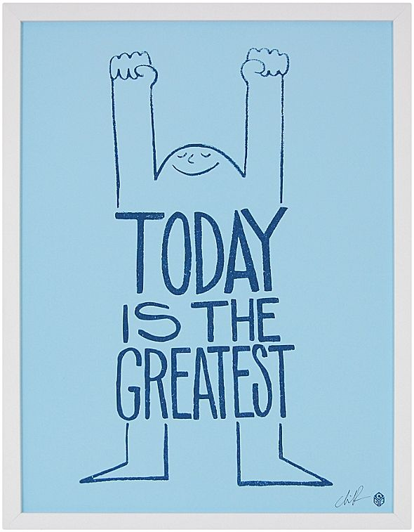 Today Is The Greatest by Christopher David Ryan #serenaandlily