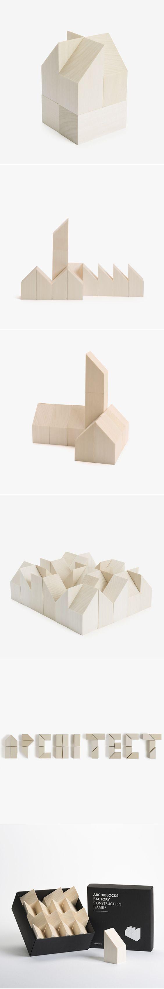 Archiblocks Factory: Bauhaus inspired building blocks - Cinqpoints