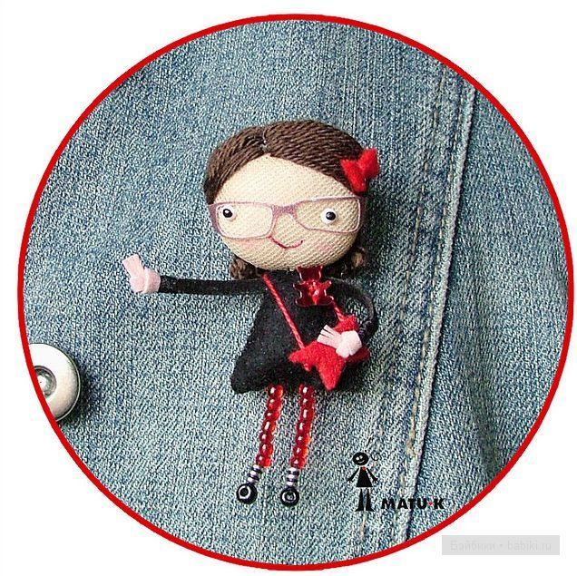 Смешные авторские куколки от matu-k