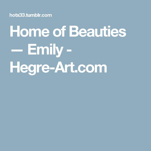 Home of Beauties — Emily  - Hegre-Art.com