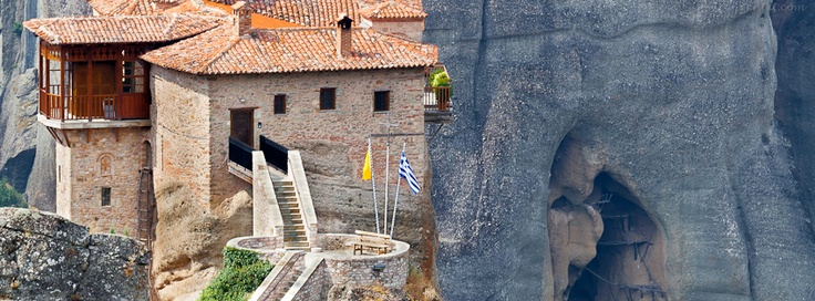 Roussanou Monastery, Meteora, Greece  - If you use this image, please post a link to your Facebook page in the comments and/or Like my page at www.facebook.com/pixntxt - You can check out my reasons for releasing these covers under Creative Commons at my blog: http://blog.pixntxt.com/2012/10/01/what-would-trey-ratcliff-do-post-free-facebook-timeline-images-thats-what/
