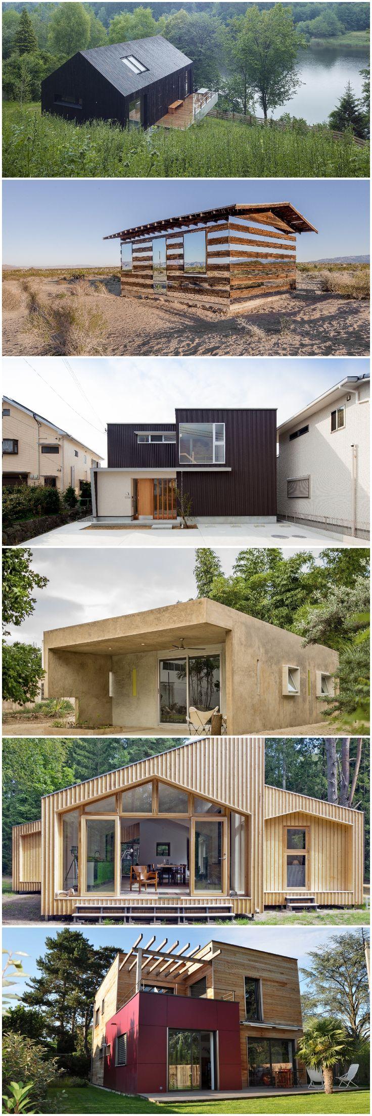 38 best Ideen für kleine Häuser images on Pinterest | Small homes ...