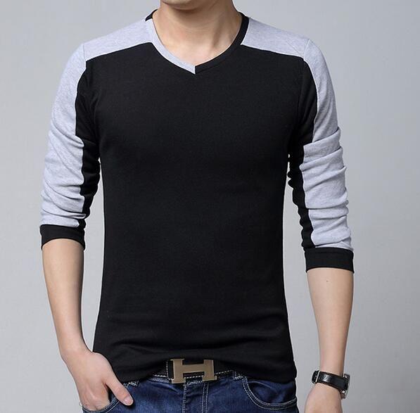 Aliexpress.com: Comprar 12 diseños 2016 de los hombres de moda casual de las camisetas de manga larga camisa de polo de algodón a rayas camiseta cabida de los hombres top tees de camisetas polos fiable proveedores en Easy Buy Trading Co., Ltd.