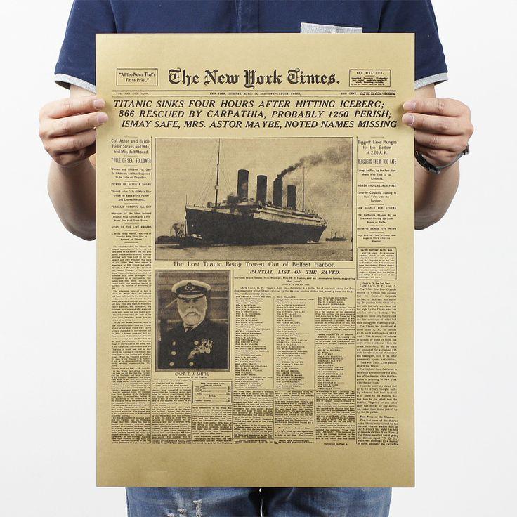 Купить товарИстория the New York Times кожа и старые газеты флэш класс декоративная живопись бар 51 x 35.5 см классический плакат старинные ретро в категории Наклейки на стенуна AliExpress.    Начать                         Хиппи Девушка Ретро хиппи автобус крафт-бумаги плакат...             Цена:    $03.15