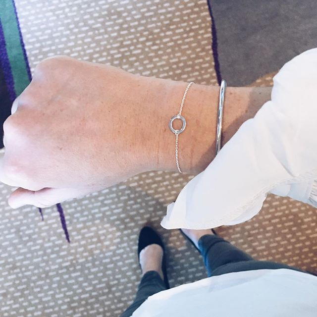My Shining Armour The Karma Delicate Bracelet is available in Gold, Silver and Rose Gold. What goes around comes around. Shop at http://myshiningarmour.com
