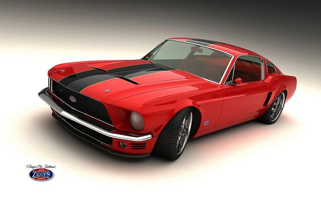 mustang 1965 | Car and bike Design by Bo Zolland and Zolland ...