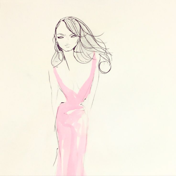 My fashion illustration