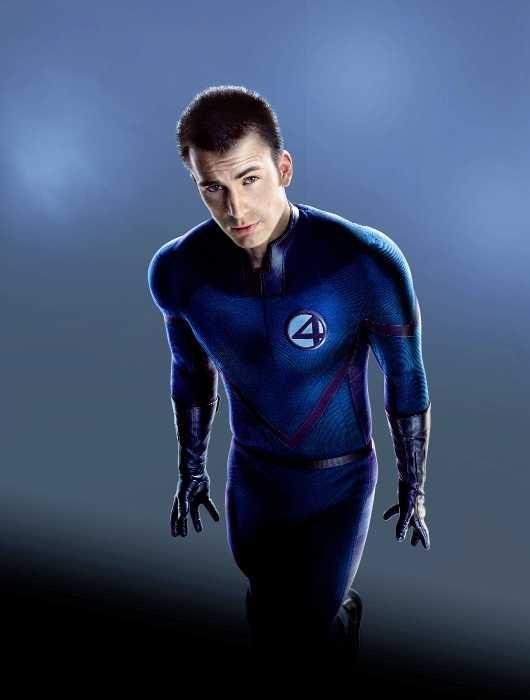 The Human Torch, Chris Evans, Fantastic Four