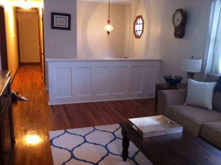 357 best images about raised ranch on pinterest foyers for Raised ranch basement ideas