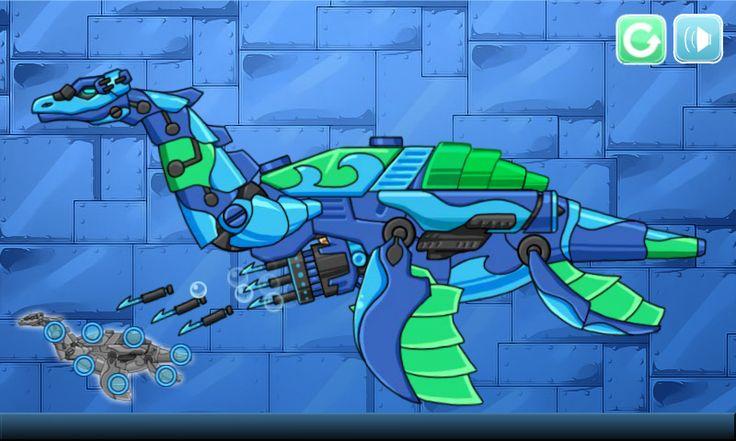 Dino Robot Spiele online / Coole Spiele