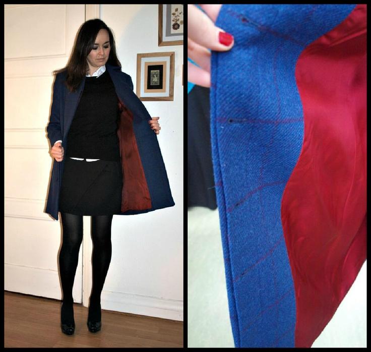 Handmade woolen coat by Susana Nakatani