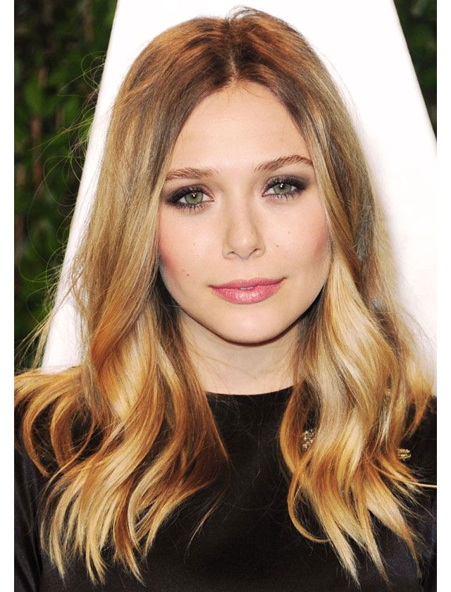 La raie centrale de Elizabeth Olsen / The center part as seen on Elizabeth Olsen