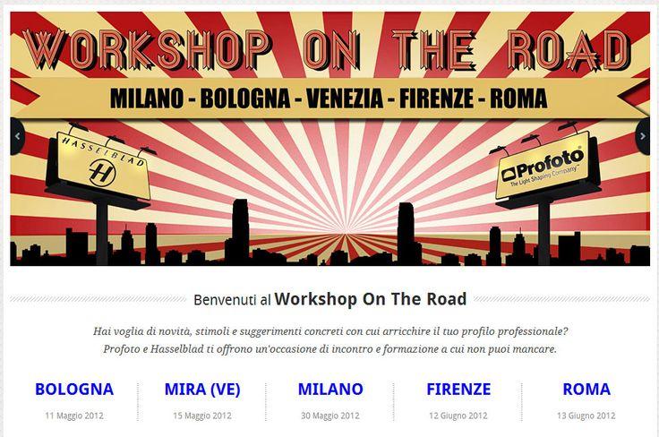 WORKSHOP ON THE ROAD    Hasselblad e Profoto assieme in un ciclo di seminari gratuiti in alcune tra le principali città d'Italia: Bologna, Milano, Venezia, Firenze, Roma. A partire dall'11 maggio prossimo. Info qui: http://www.claudiarocchini.it/blog/workshop-on-the-road/