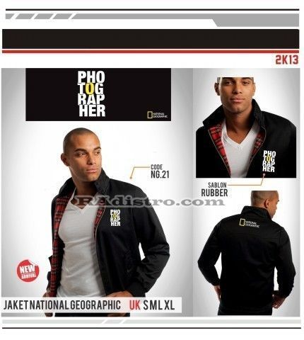 jual jaket national geographic online murah (NG 21) Photographer