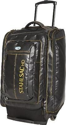 Stahlsac by Bare HD Caicos Cargo Travel Roller Dive Bag (Black)
